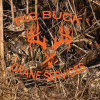Big Buck Crane Services T-Shirt Design by louVVis