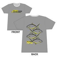 Breakaway T-Shirt Design by louVVis