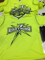 Lightning T-Shirt Design by louVVis