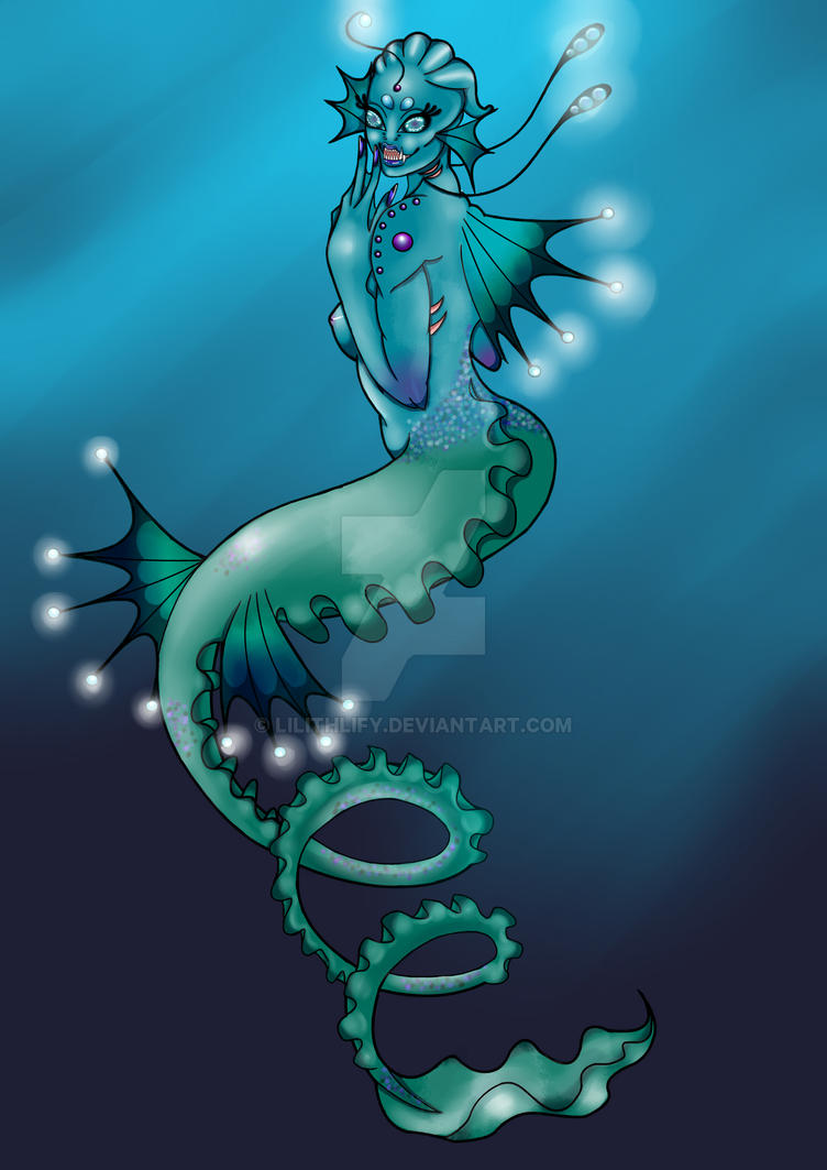 Sea Monster by Lilithlify