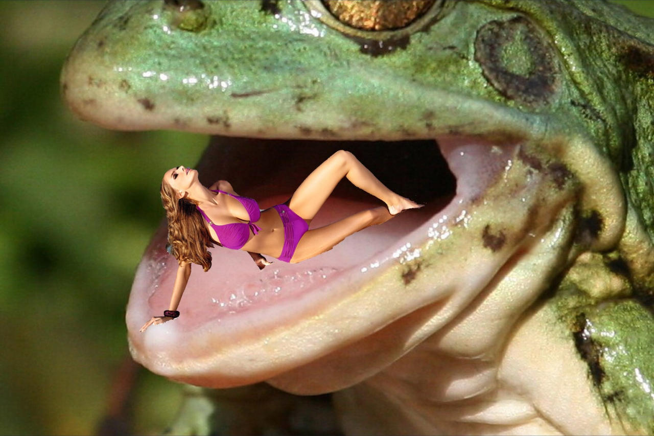 Free frog vore sexual scene