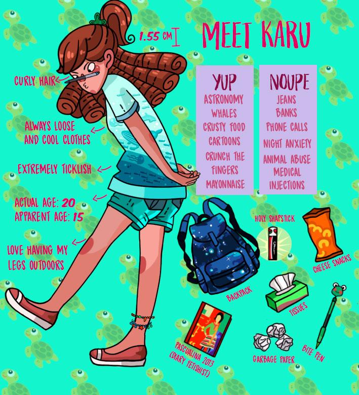 Meet the artist by Karu-Art