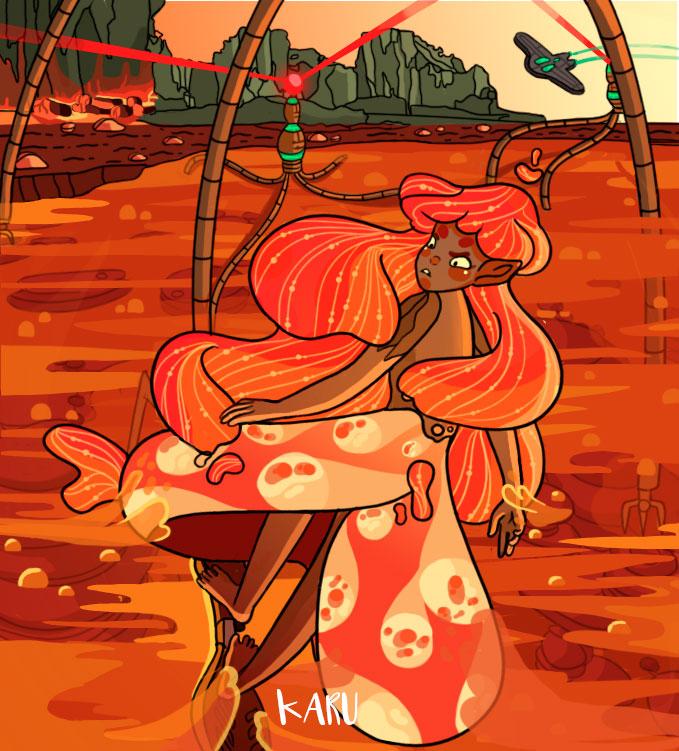 Worlds III by Karu-Art