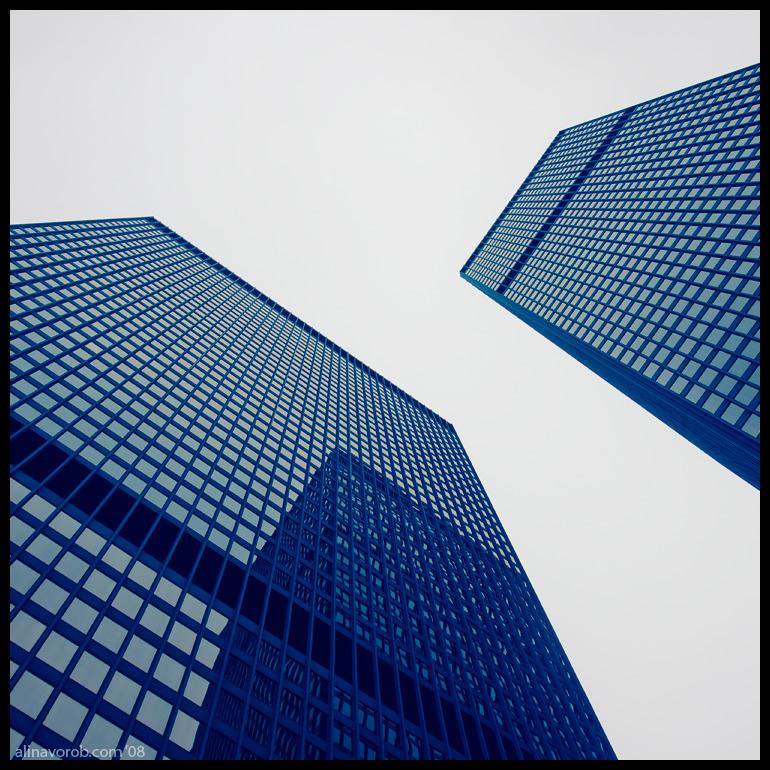 Toronto Towers by hesitation