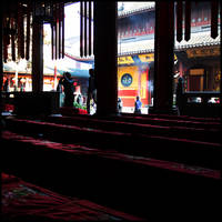 Inside the Temple by hesitation