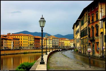 Italian waterfront by hesitation