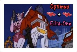 Elita and Optimus by GeminiGirl83