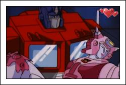 Optimus and Elita 2 by GeminiGirl83