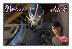 Arcee and Jack Love by GeminiGirl83
