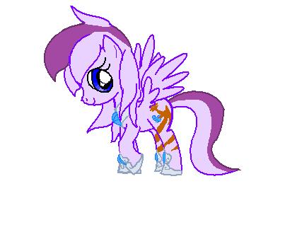 Me as pony 'Dynasty' by VioletHybrid