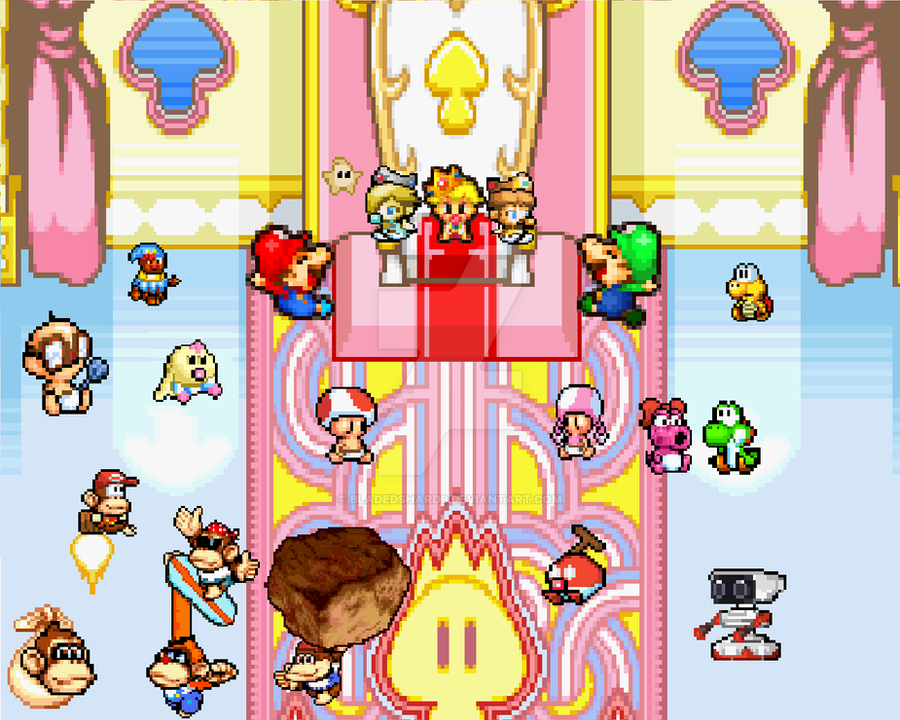 Mario - Characters as Babies!