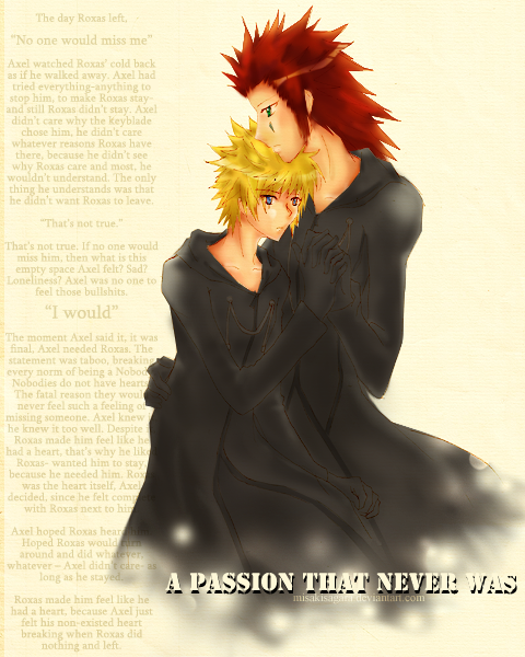 .:. A passion that never was by MisakiSagara
