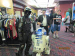 Scout Trooper and R2-D2 at ASTL 2012