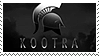 kootra stamp by a-creature