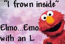 Emo Elmo by Mirosan118