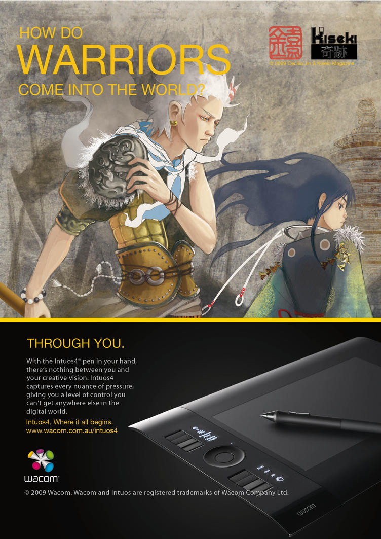Kiseki Issue 3 Wacom Advert by KisekiManga