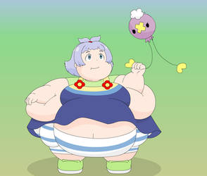Drifloon doesn't like fat children by Gnight