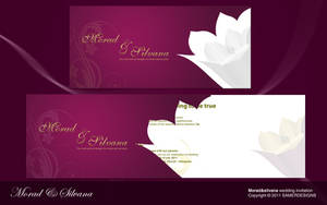 wedding invitation by samerwagdyhalim