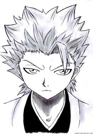 Captain Toushirou Hitsugaya By Bleach Squad 10 Club