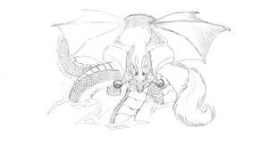 Dragon in progress