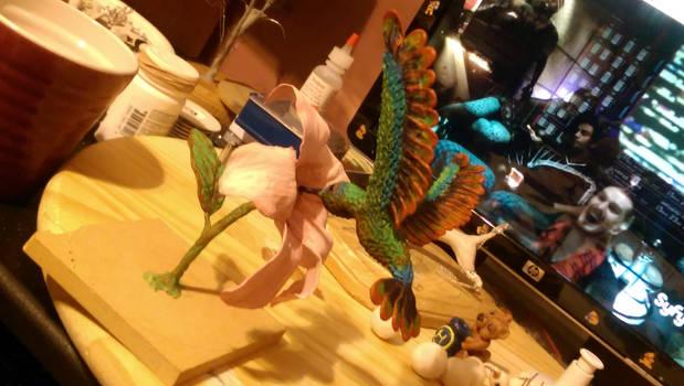Finished Hummingbird