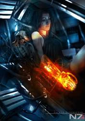 Mass Effect 3 - Miranda by patryk-garrett