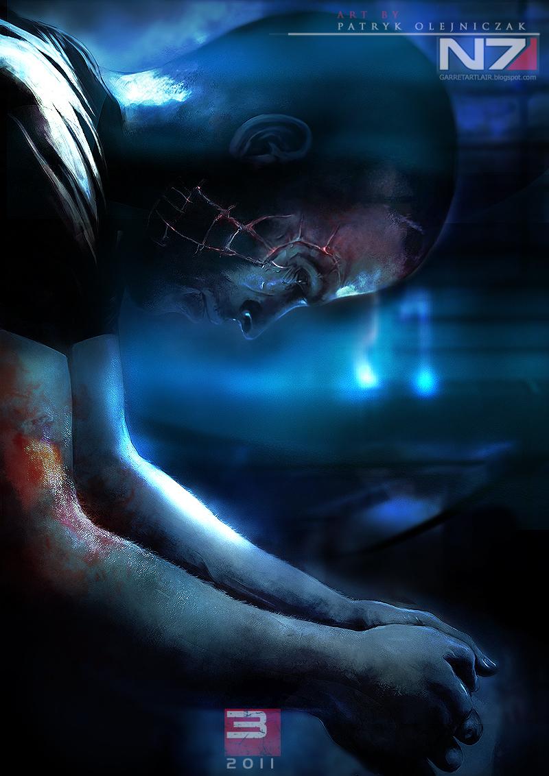 Mass Effect 3 - Shepard by patryk-garrett