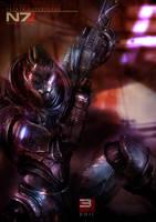 Mass Effect 3 - Garrus by patryk-garrett