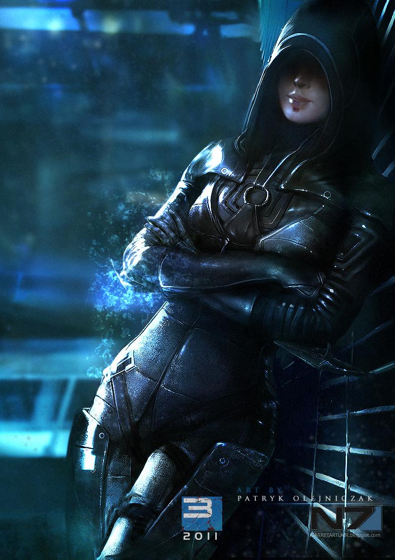 Mass Effect 3 - Kasumi Goto by patryk-garrett