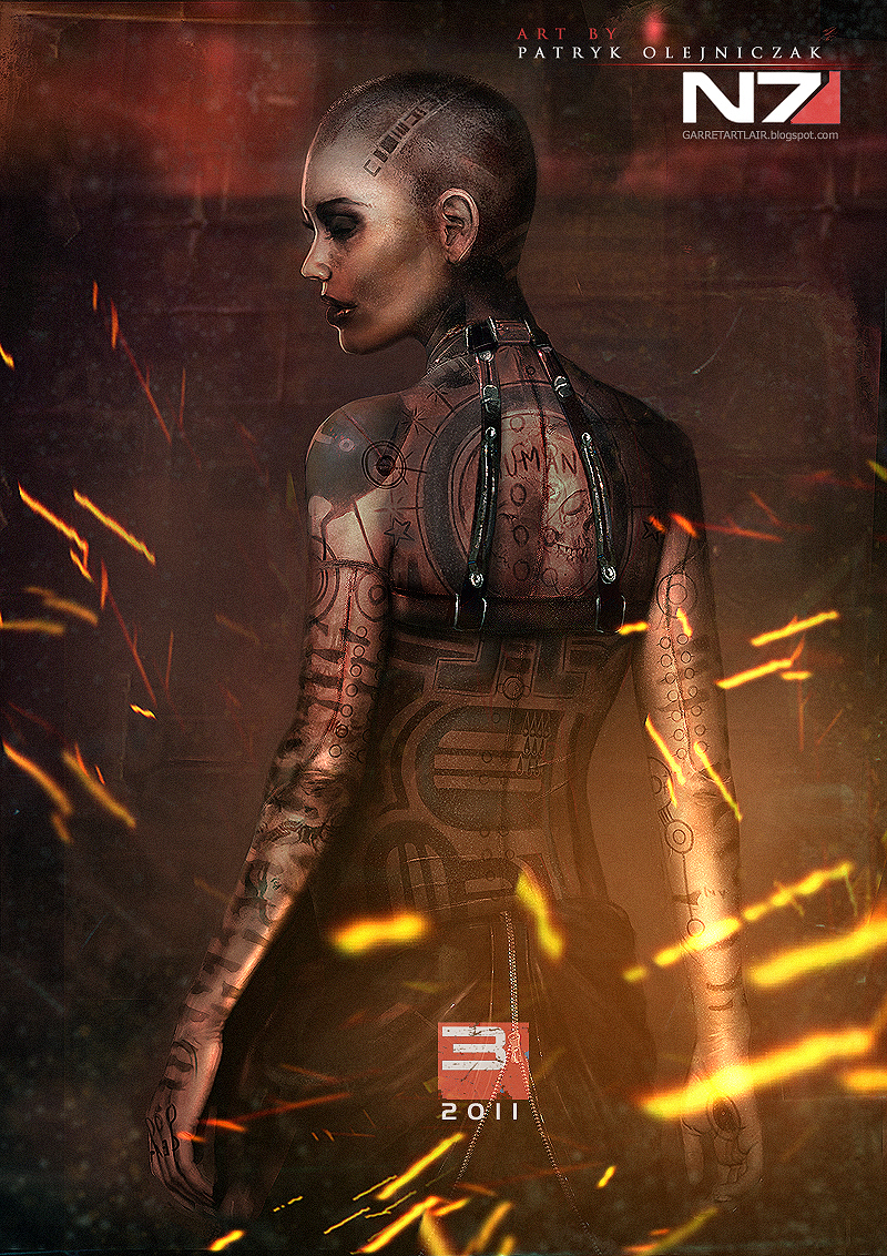 Mass Effect 3 - Jack by patryk-garrett