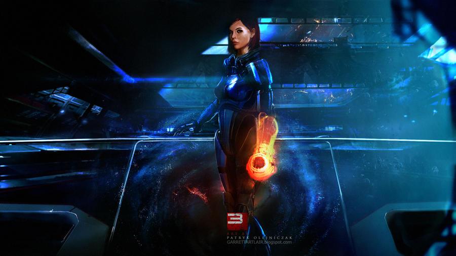 Mass Effect 3 - E3 Wallpaper by patryk-garrett