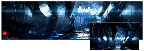 Mass Effect 3 Comic-Con by patryk-garrett