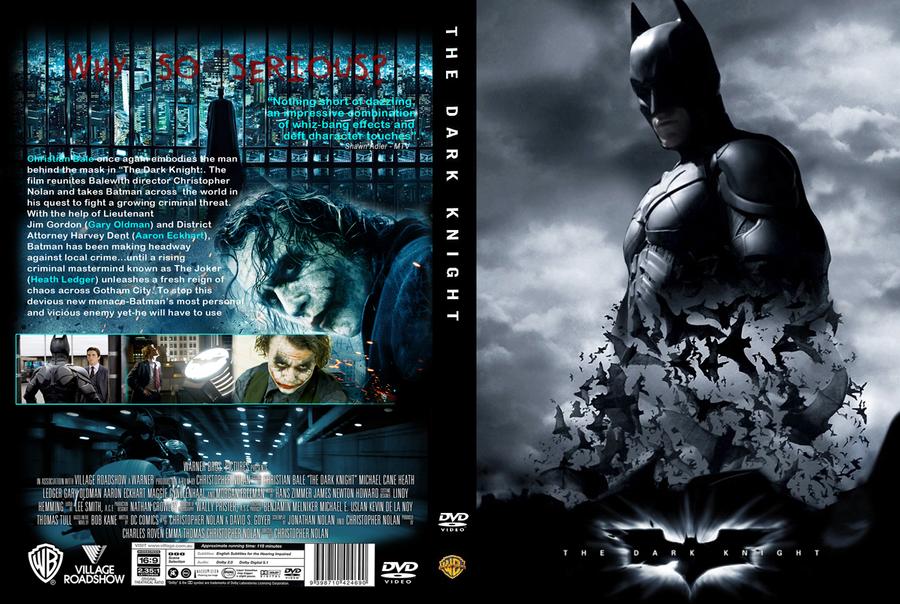 The Dark Knight DVD Cover custom by skarface3k3 on DeviantArt