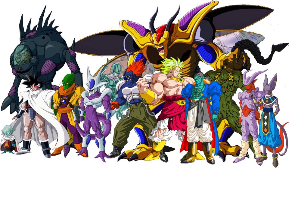 DBZ Movie Villains NEW v2 by skarface3k3