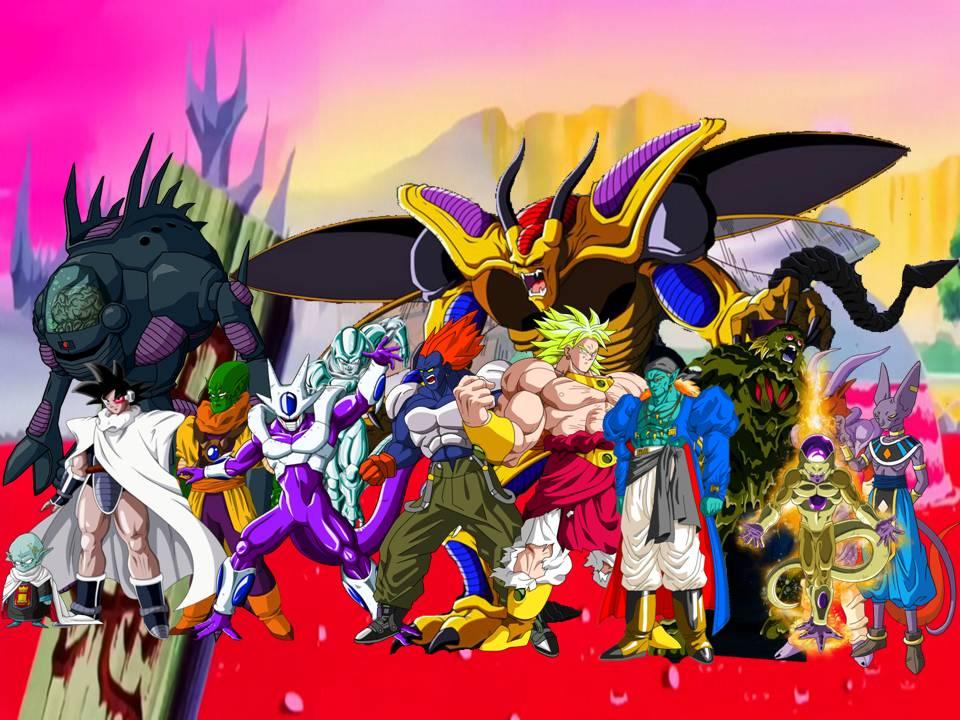 Dragonball Z Movie Villains by skarface3k3 on DeviantArt