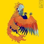 Artfight// bird creature
