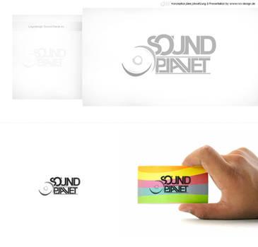 Sound-Planet Logodesign by pcwunder