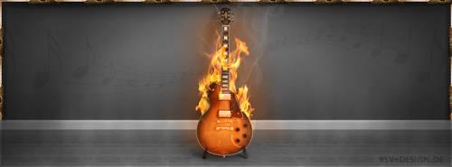 Guitar by pcwunder