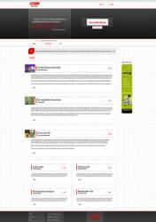 Interaktive Literaturwebsite by pcwunder