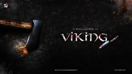 Rocketbeans TV - Pen and Paper - Viking by pcwunder