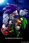 Sonic the Werehog VS. Scourge