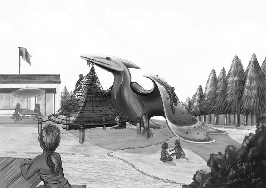Dinosaur Playground by Frankyding90