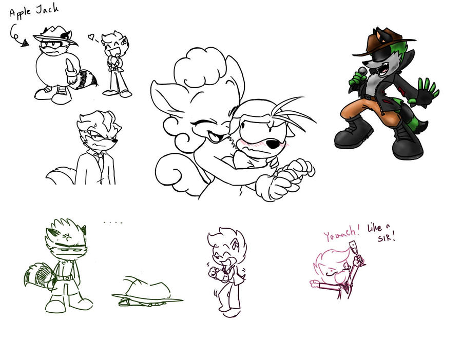 Silly Doddles from Livestream by Frankyding90
