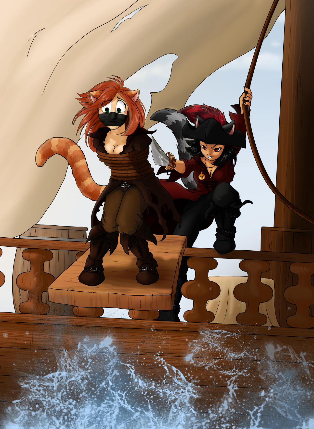 Commission: Pirate Cats! by Frankyding90 on DeviantArt