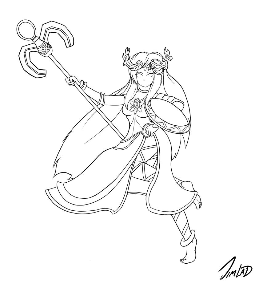 Palutena Coloring Pages Coloring Coloring Pages