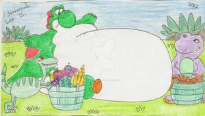 Feeding Fat Yoshi