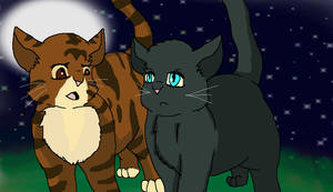 Leafpool and Crowfeather