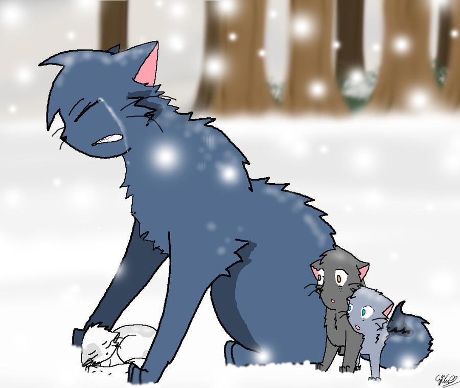 Warrior Cats Dead: Mosskit's Death By SailorMoonRose On DeviantArt