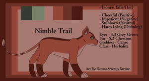 Nimble Trail: The Herbalist Lioness