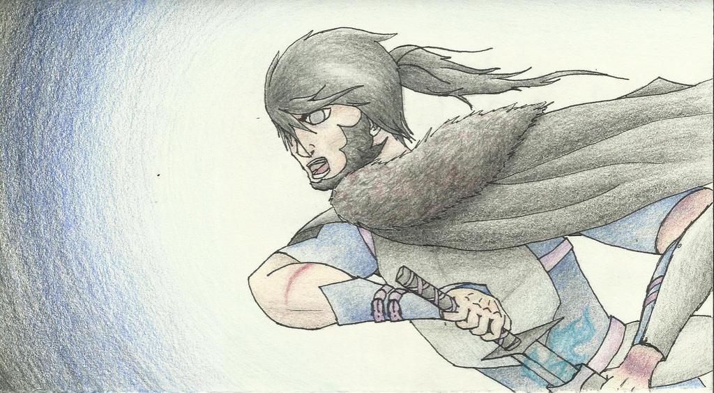 The Dark Warrior, Deiderich by dragonrider-nd6